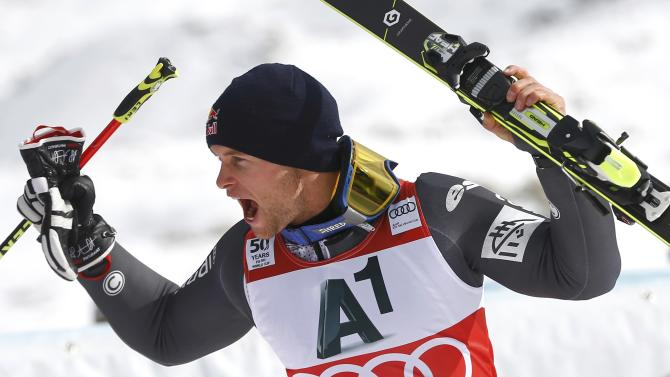 Alpine Skiing - FIS Alpine Skiing World Cup - Giant Slalom Men