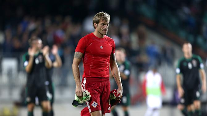 Soccer - FIFA World Cup Qualifying - Group F - Luxembourg v Northern Ireland - Estade Josy Barthel