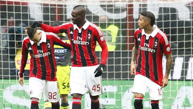 Serie A - Milan is Balotelli's big chance, says coach