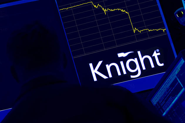 Knight Capital - Mini Flash Crash