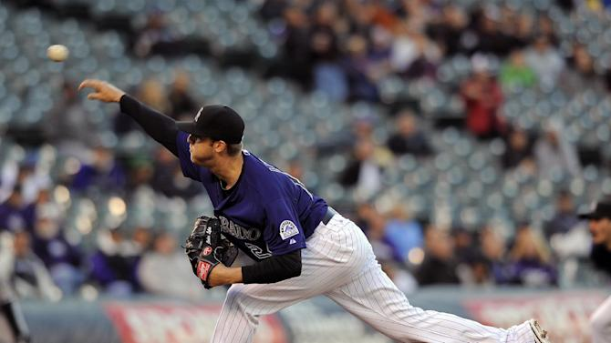 Jordan Lyles leads Rockies past White Sox 8-1