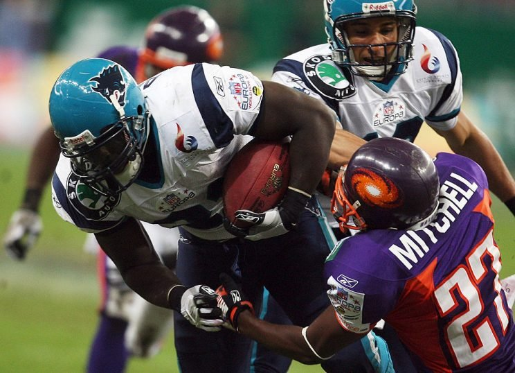 A new NFL developmental league could take the role of NFL Europe, seen here in 2007. (Getty)