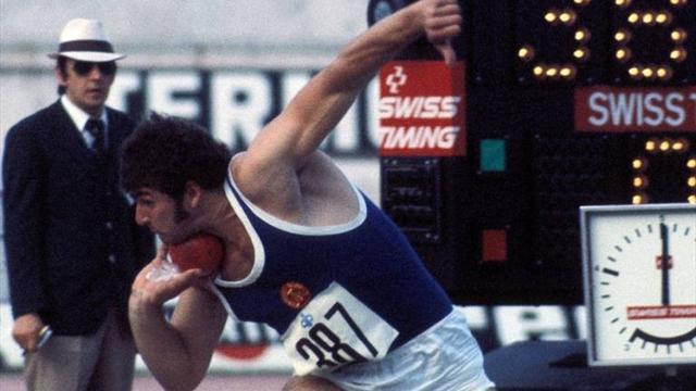Athletics - East German Olympic shot put champion admits doping