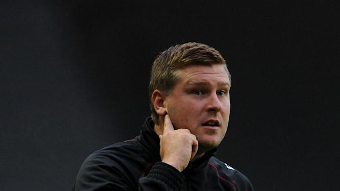 Karl Robinson admitted he was 'baffled' by the decision to award his team a penalty