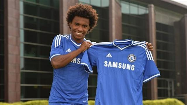 Premier League - Willian absent for Super Cup trip