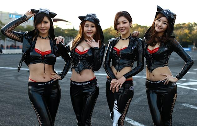 Japanese 'pussycat dolls' (Photo by www.Cheryl-Tay.com)