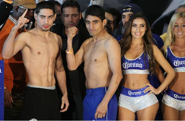 Danny Garcia v Erik Morales - Weigh In