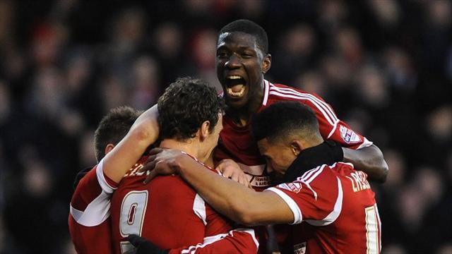 Championship - Djebbour nets on Forest debut