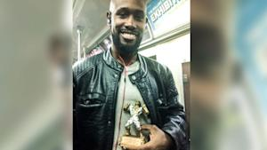 Pregnant woman rewards man who offered his seat with…