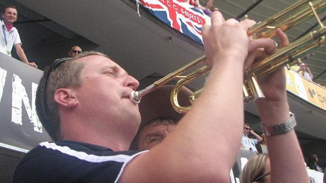 Ashes - England players fume as 'Billy the Trumpet' is banned from Ashes