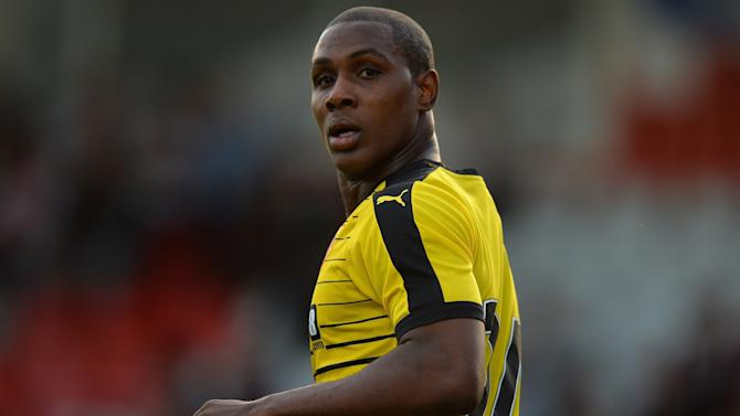 Watford's demand threatens Odion Ighalo's West Brom transfer