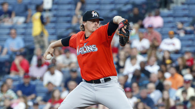 Gattis homers in 10th, Braves beat Marlins 4-2