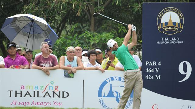 Golf - Schwartzel and Bourdy lead Alfred Dunhill