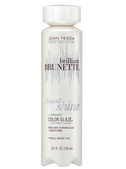 JOHN FRIEDA BRILLIANT BRUNETTE LIQUID SHINE COLOR GLAZE