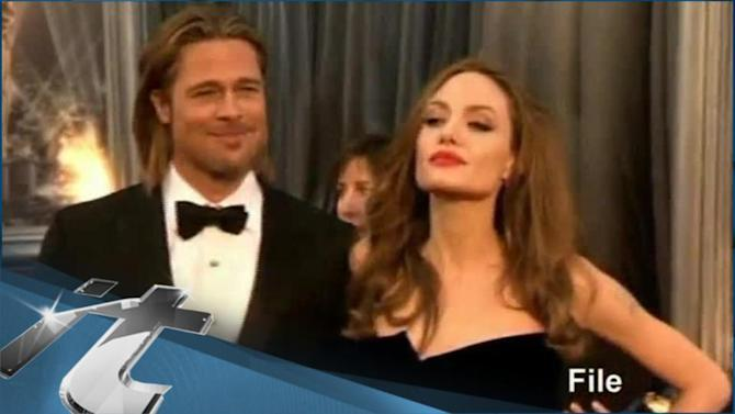 Angelina Jolie News Pop: Brad Pitt REFUSES Any More SeXXXy Screen Time! He's A One Woman Man, On & Off Screen!