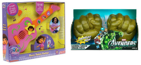 Consumer watchdogs have put these toys on their 2012 Dangerous Toys lists. (Photo: Fisher Price and Hasbro)