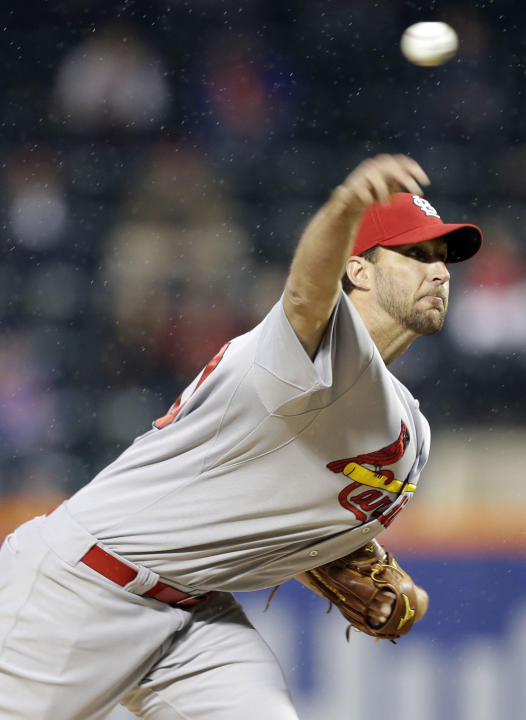Cards' Wainwright says knee good for Sunday start