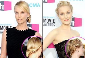 Who Had the Hotter Hairstyle Last Night: Charlize Theron or Evan Rachel Wood?