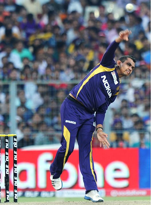 Kolkata Knight Riders cricketer Sunil Na