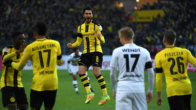 Dortmund confirm Sahin out for two weeks