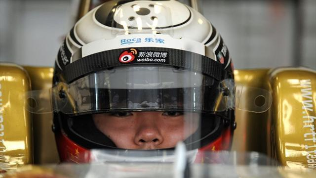GP2 - Qing Hua gets Caterham test