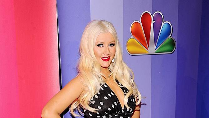 Christina Aguilera NBC Upfronts
