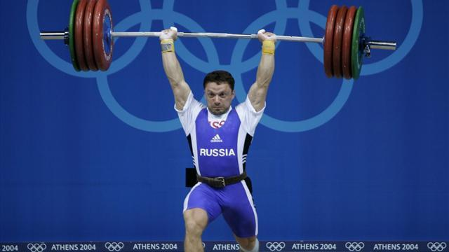 Olympic Games - Russia weightlifter stripped of 2004 medal