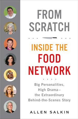 """This book cover image released by Putnam shows """"From Scratch: Inside the Food Network, Big Personalities, High Drama - the Extraordinary Behind-the-Scenes Story,"""" by Allen Salkin. (AP Photo/Putnam)"""