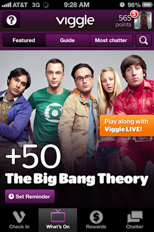 Viggle, GetGlue Lead Way in New Era of Social TV image photo 2