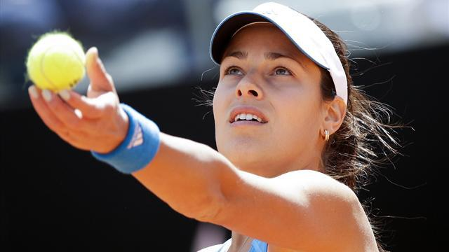 Tennis - Ivanovic stuns Sharapova in Rome