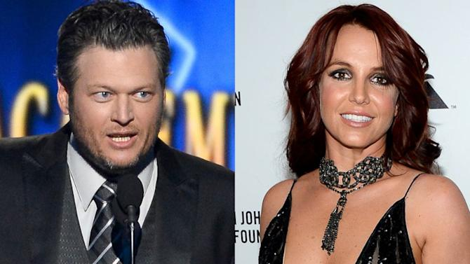 Blake Shelton Disses Britney Spears at the ACM Awards