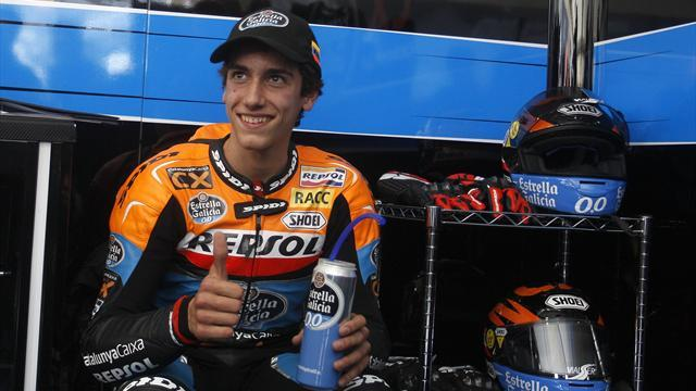 Motorcycling - Moto 3: Rins wins interrupted opener in Texas