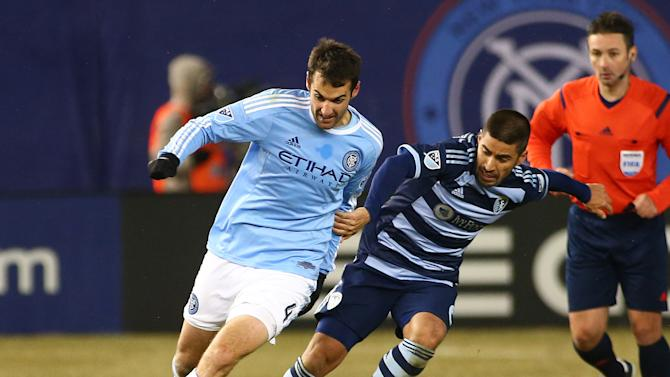 MLS: Sporting KC at New York City FC