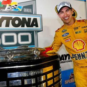 Logano achieves landmark victory in Daytona