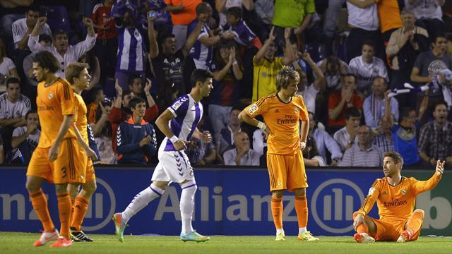 Liga - Real Madrid title challenge all but over after Valladolid draw