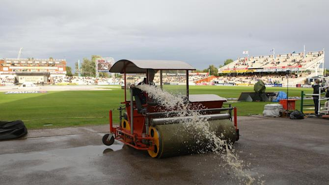 The first T20 between India and New Zealand was rained off