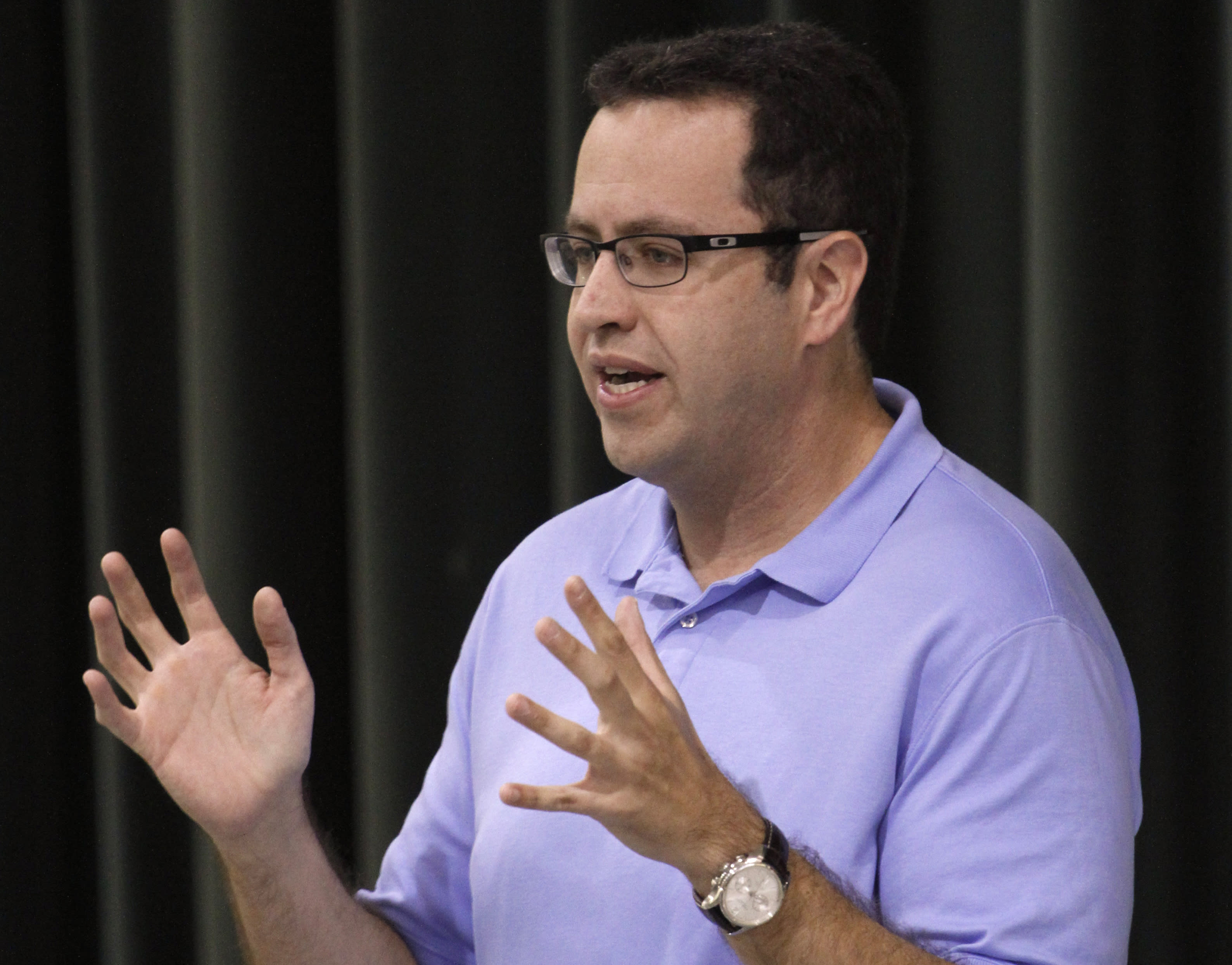 The Latest: Subway suspending relationship with Jared Fogle