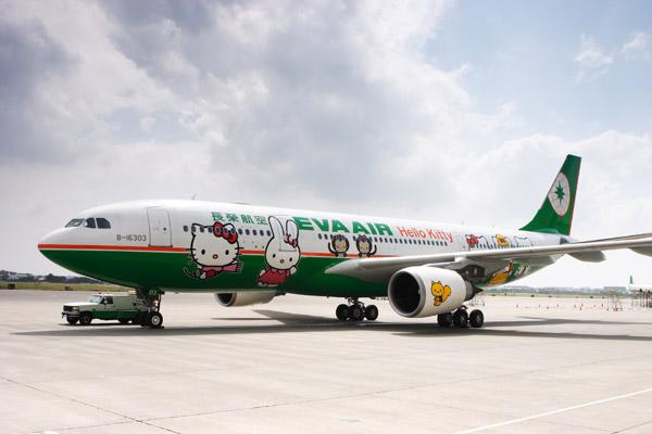 Hello Kitty Airbus for Eva Air