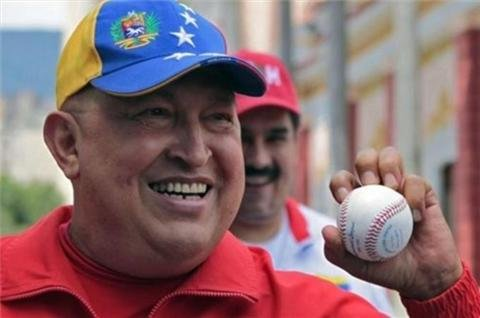 Chavez 'walking' after cancer surgery