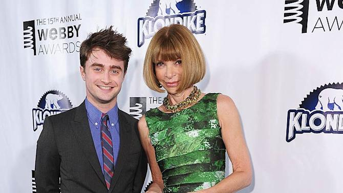 Radcliffe Wintour Webby Awards