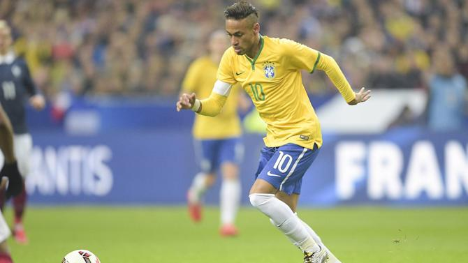 International friendlies - Neymar can break Pele's Brazil goal record, says Dunga
