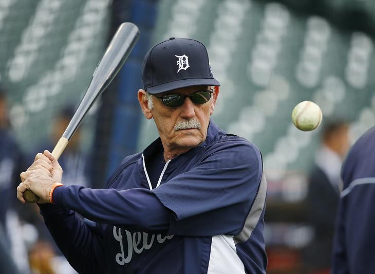 Former Detroit Tigers manager Jim Leyland has spent 54 years in baseball. (AP)