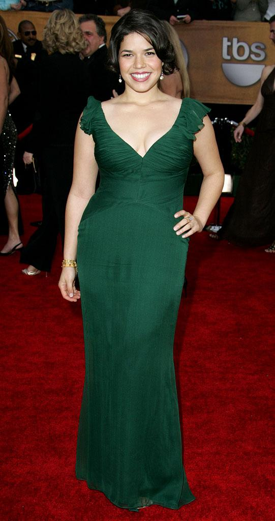 America Ferrera at the 13th Annual Screen Actors Guild Awards.