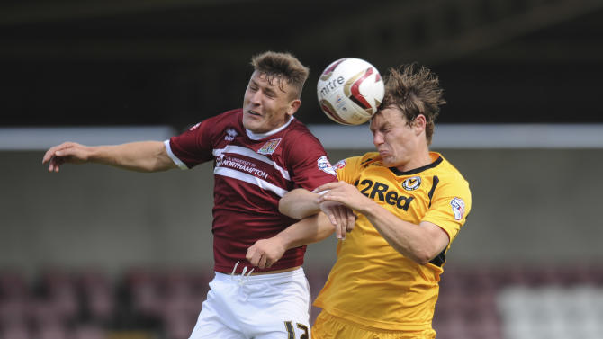 Soccer - Sky Bet League Two - Northampton Town v Newport County - Sixfields Stadium