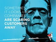 Can I Share a Dream? Image Your Customer Becomes Your Friend… image scaring away 300x225