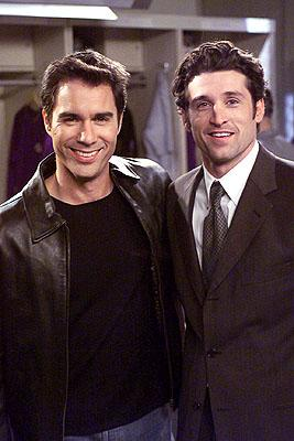 Eric McCormack and Patrick Dempsey on NBC's Will and Grace