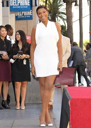 Jennifer Hudson is honored with a Star on The Hollywood Walk of Fame on November 13, 2013 in Hollywood -- Getty Images