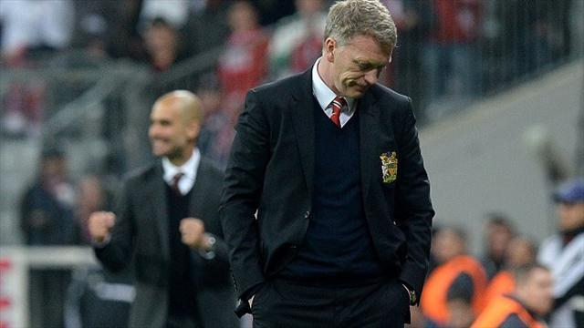 Champions League - Moyes blasts 'schoolboy error' after United exit