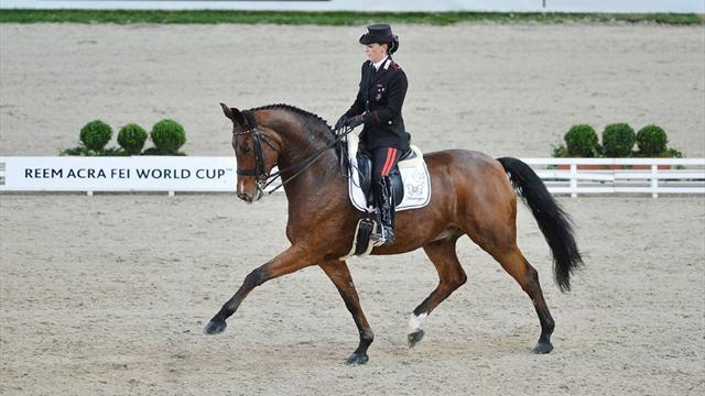 Equestrianism - Truppa well placed to reach Gothenburg