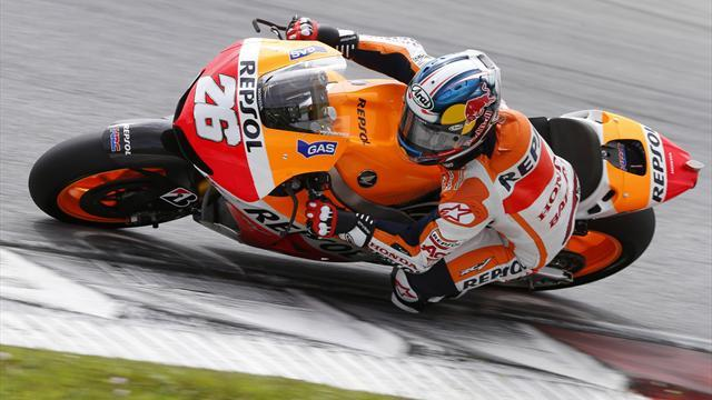 Motorcycling - Pedrosa claims pole with Montmelo lap record